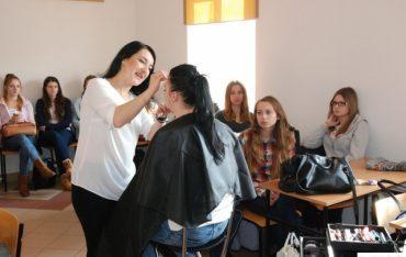 Szkolenie Pierre Rene dla studentek kosmetologii