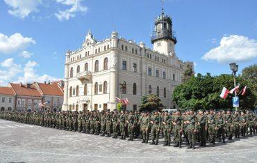 Przysięga żołnierzy Terytorialnej Służby Wojskowej