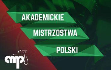 Drużyna PWSTE na Akademickich Mistrzostwach Polski