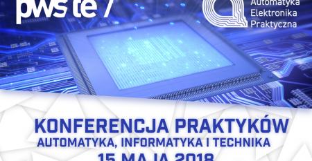 Konferencja Praktyków Automatyka, Informatyka I Technika 15052018