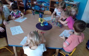 Studenci Pedagogiki na zajęciach praktycznych
