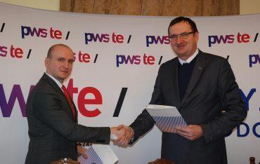 Podpisanie umowy współpracy z Zespołem Szkół Innowacyjnych w Jarosławiu