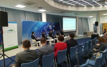 Przedstawiciele PWSTE podczas Forum Europa – Ukraina