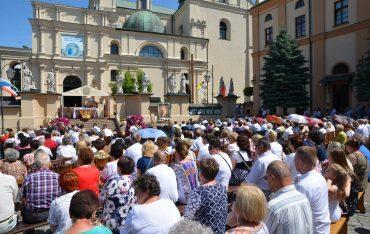 PWSTE w Jarosławiu podczas Procesji Bożego Ciała