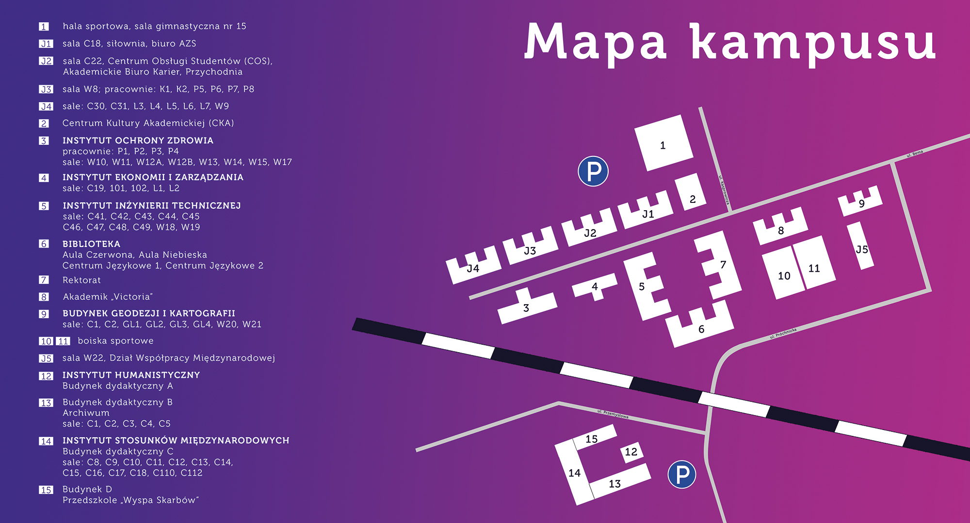 mapa kampusu
