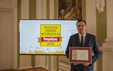 PWSTE na 3. miejscu w Rankingu Perspektywy