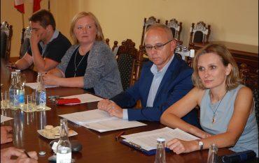 Spotkanie z przedstawicielami stowarzyszenia Związek Liderów Sektora Usług Biznesowych (ABSL)