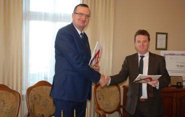 Podpisanie umowy o współpracy między PWSTE i Partium Christian University z siedzibą w Oradei w Rumunii