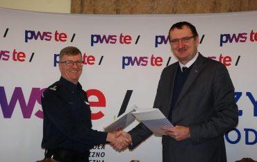 Podpisanie umowy o współpracy z Komendą Powiatową Policji w Jarosławiu