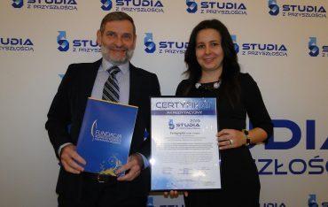 Certyfikat Lidera Kształcenia dla kierunku Pedagogika!