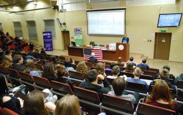 Konsul Ambasady USA z wizytą w PWSTE