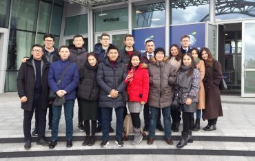 Zakończenie stażu dla studentów z Kazachskiego Uniwersytetu Państwowego im. Al-Farabi