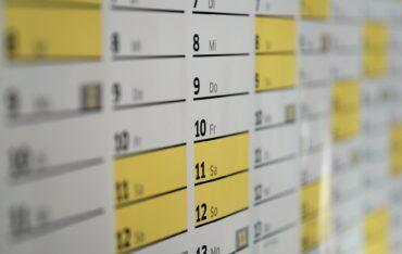Harmonogram zajęć online – marzec i kwiecień
