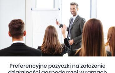 """Bezpłatne webinarium """"Pierwszy biznes – Wsparcie w starcie"""""""