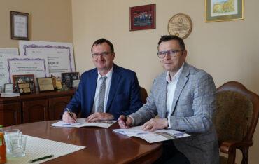 Podpisanie umowy z firmą Exatel