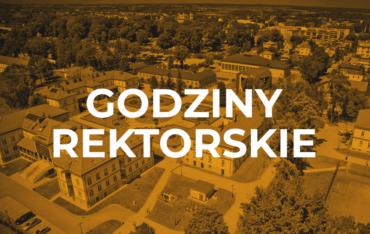 Godziny rektorskie – 1 października